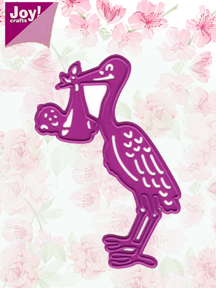 Лезвие Joy! Crafts Cutting & Embossing Dies - Stork & Baby
