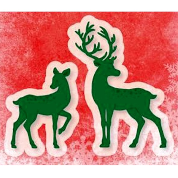 Лезвие Joy Crafts - Cutting and Embossing die - Deer