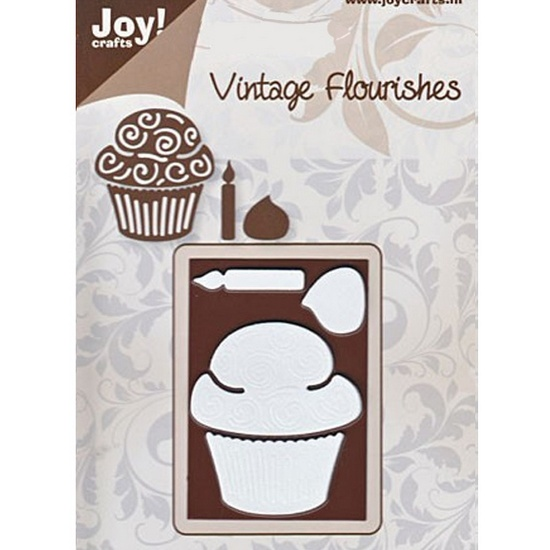 Лезвие Joy! Craft Dies - Vintage - Cupcake & Candle MD
