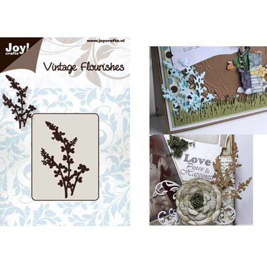 Лезвие Joy! Crafts - Vintage Flourishes - Cutting Flowers