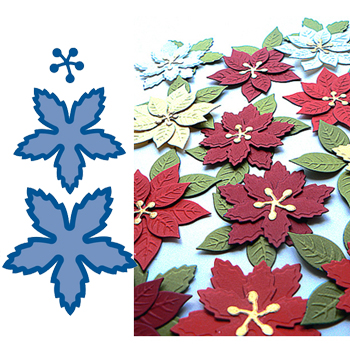 Набор лезвий Marianne Design Creatables - Poinsettia