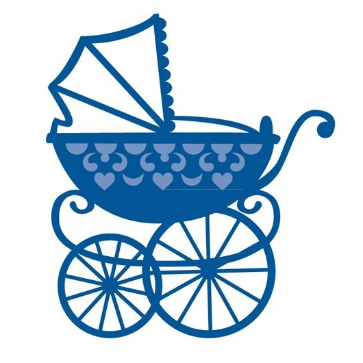 Лезвие Creatable - Baby Carriage, размер 7,3х8,2 см
