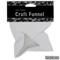 Леечка Top Boss® Embossing Craft Funnel, Clear Snap, 10005 - ScrapUA.com