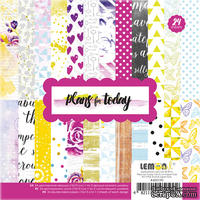Набор бумаги от Lemon Owl - Plans for Today, Paper pads, 24 стр.,15х15см