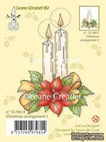 Акриловый штамп от LeCreaDesign - Clear stamp Christmas arrangement 1. with poinsettia