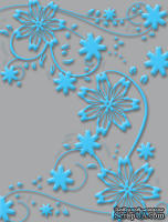Папка для тиснения Craft Concepts Embossing Folders - Yves - Thoughtful Collection (A2)