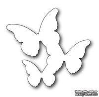 Нож от Memory box - DIES- Floating Butterflies Background