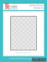 Нож для вырубки от Lil' Inker Designs - Quilted Stitched Pattern Die