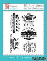 Штампы от Lil' Inker Designs - Big Christmas Stamp Set