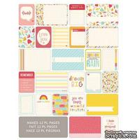 Мини-набор Project Life by Becky Higgins - Themed Cards - Girl, 60 шт