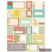 Мини-набор Project Life by Becky Higgins - Themed Cards - Celebrate, 60 шт