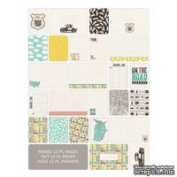 Мини-набор Project Life by Becky Higgins - Themed Cards - Road, 60 шт