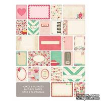 Мини-набор Project Life by Becky Higgins - Themed Cards - Love, 40 шт