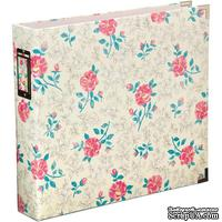 Альбом на кольцах Project Life by Becky Higgins - Albums 12x12 D-Ring - Maggie Holmes Floral