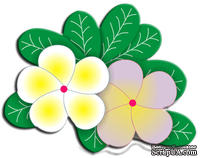 Лезвие Frangipani with Leaves от Cheery Lynn Designs