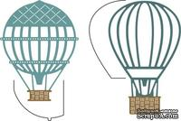 Лезвие Hot Air Balloons w/Angel Wing от Cheery Lynn Designs