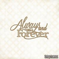 Чипборд Blue Fern Studios - Always and Forever - ScrapUA.com