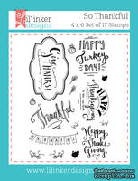 Штампы от Lil' Inker Designs - So Thankful Stamps