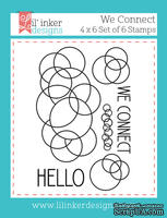 Штампы от Lil' Inker Designs - We Connect Stamps
