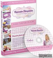 Диск с видео-мастер классами от  Crafters Companion -Cupcake Templates Collection - Video Tutorials CD-ROM