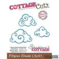 Лезвие CottageCutz - Filigree Clouds (3x3)