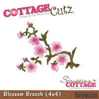 Лезвие CottageCutz - Blossom Branch, 10х10 см