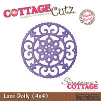 Лезвие CottageCutz - Lace Doily, 10х10 см