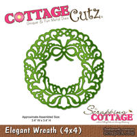 Лезвие CottageCutz Elegant Wreath, 10х10 см