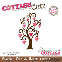 Лезвие CottageCutz - Flourish Tree, 10х10 см