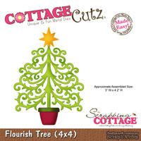 Лезвие CottageCutz Flourish Tree, 10х10 см