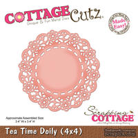 Лезвие CottageCutz - Tea Time Doily, 10х10 см