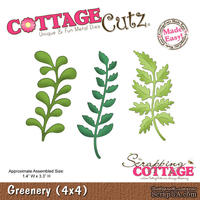 Лезвие CottageCutz - Greenery, 10х10 см
