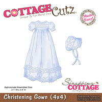 Лезвие CottageCutz - Christening Gown, 10х10 см