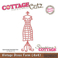 Лезвие CottageCutz Vintage Dress Form, 10х10 см