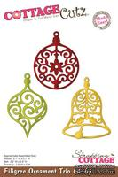 Лезвие CottageCutz Filigree Ornament Trio, 10х15 см