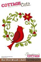 Лезвие CottageCutz Red Bird Wreath, 10х15 см