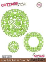 Лезвие CottageCutz Large Baby Doily & Frame, 12,5х12,5 см