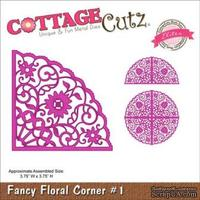 Лезвие CottageCutz Fancy Floral Corner #1 (Elites) - ScrapUA.com