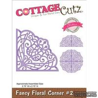 Лезвие CottageCutz Fancy Floral Corner #2 (Elites)
