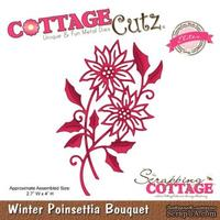 Лезвие CottageCutz Winter Poinsettia Bouquet (Elites)