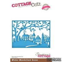 Лезвие CottageCutz Winter Wonderland Scene (Elites)
