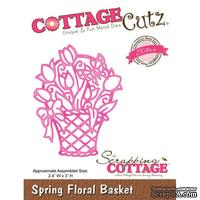 Лезвие CottageCutz - Spring Floral Basket (Elites)