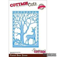 Лезвие CottageCutz - Forest Deer Scene