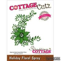 Лезвие CottageCutz - Holiday Floral Spray