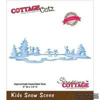 Лезвие CottageCutz - Kids Snow Scene