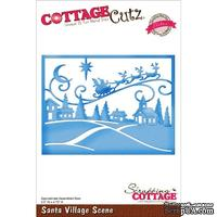 Лезвие CottageCutz - Santa Village Scene