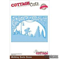 Лезвие CottageCutz - Walking Santa Scene