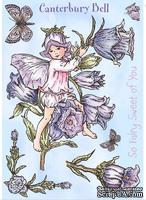 Набор штампов от Crafter's Companion -Flower Fairy Unmounted Stamp Set - Canterbury Bell