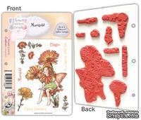 Набор штампов от Crafter's Companion -  Flower Fairy EZMount Stamp Set - Marigold
