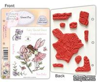 Набор штампов от Crafter's Companion - Flower Fairy EZMount Stamp Set - Sweetpea